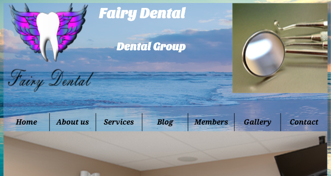 fairy dental website photo